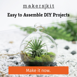 MakersKit - We have easy to assemble DIY projects. Make it now!
