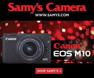 Canon EOS M10 at Samy's Camera