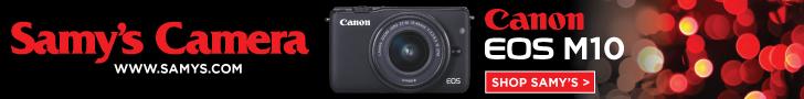 Canon EOS M10 at Samy's Camera