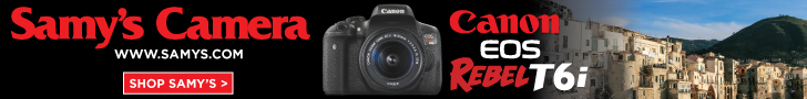 Canon EOS Rebel T6i  at  Samy's Camera