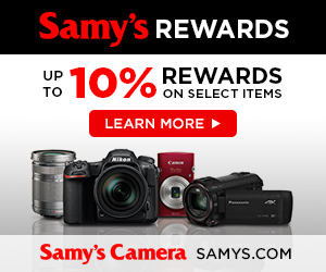 Samy's Rewards Program banner