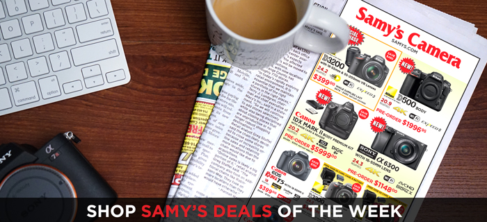 Samy's Camera Weekly Deals