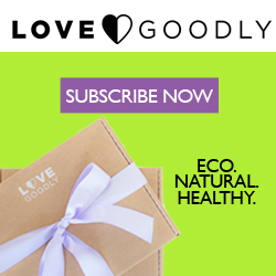 LOVE GOODLY gives back with each purchase