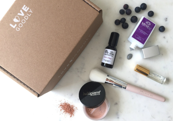 Love Goodly cruelty-free beauty subscription box