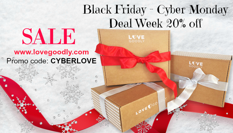 LOVE GOODLY Cyber Monday Deal Week