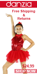 Danzcue Bright Red Sequin Dress. Free Shipping & Returns
