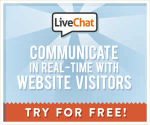 Start chatting with visitors who need your help using a free 30-day trial