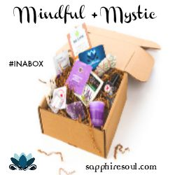 Sapphire Soul Mindful Mystic Subscription Box yoga holistic gypsy