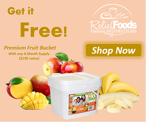 Free Fruit Lovers Bucket with 6mo Supply