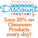 Teacher Discount Program - Save 20% on Classroom Products Every Day!