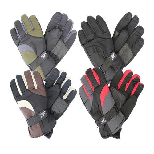 2-Pairs Men's Waterproof Thermal-Insulated Winter Gloves Was: $13.99 Now: $11.89.