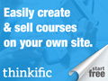 Thinkific image - one of my recommended online course platforms