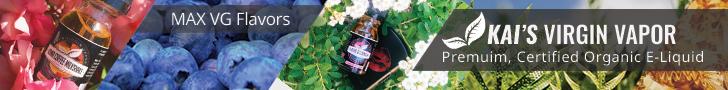 Kai's Virgin Vapor Premium Organic E-Liquid