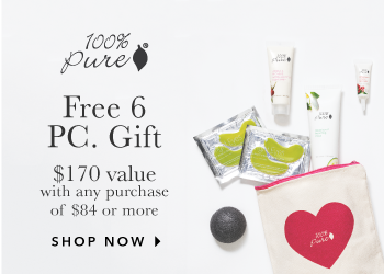 100% Pure 6 Piece Gift with Purchase