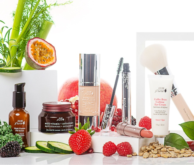 100 Percent Pure products