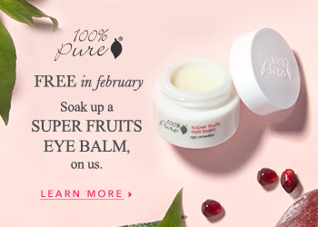 FREE Super Fruits Eye Balm with $100 or more purchase