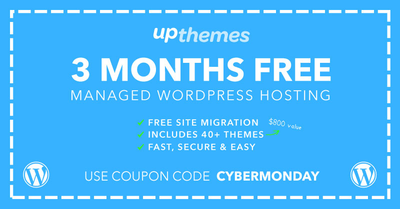 3 Months Free WordPress Hosting!