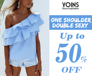 Up to 50% off for one shoulder