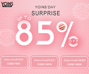 Orders over $19 - $3 for Yoins Day