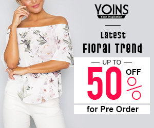 Up to 50% off for LATEST FLORAL TREND