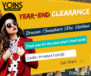 Up to 50% +Addition30% off for Year-End Clearance of dress and sweaters