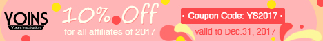 0% Off for all affiliates of 2017