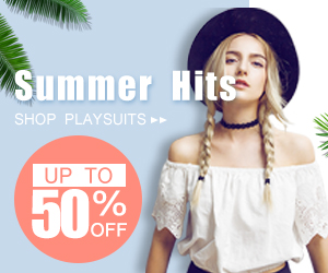 Up to 50% off for summer hits