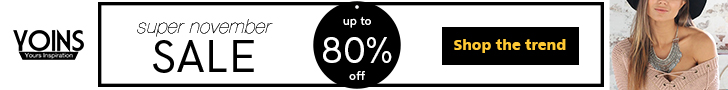 Up to 80% off for  super november sale