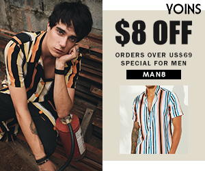$8OFF ORDERS OVER $59 SPECIAL FOR MEN