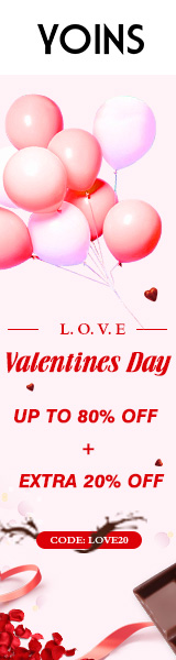 Up to 80% off + extra 20% off for Valentine's Day