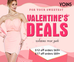 $17 off for orders over $89 for Valentines's Day