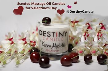 Destiny Candle by Karen Michelle