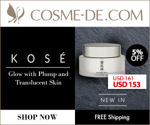 [SHOP NOW.]NEW IN KOSE.Glow with Plump and Translucent Skin.