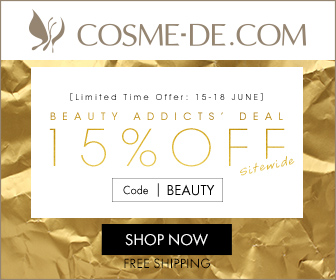 [LIMITED TIME OFFER: 15-18 JUNE]Beauty Addicts' Deal.15% OFF Sitewide.CODE: [BEAUTY]SHOP NOW