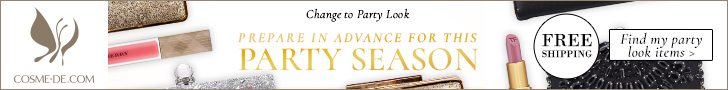 Change to Party Look.Prepare in advance for this party season![Find my party look items]