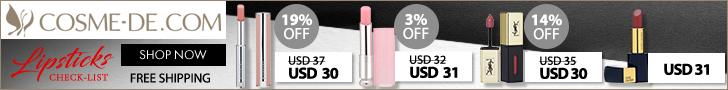 Lipsticks Check-List.Bold Lips Speak Louder Than Words.Reveal Beauty Truth NOW