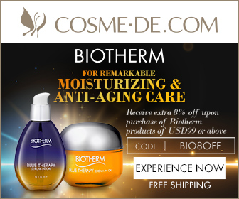 [Experience Now]Biotherm.Infused with the Power of Two Unique Textures.For Remarkable Moisturizing & Anti-Aging Care.Receive extra 8% off upon purchase of Biotherm products of USD99 or above.Enter Code: BIO8OFF