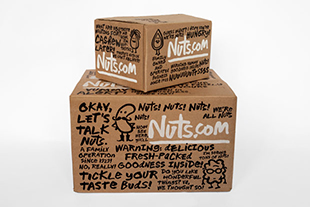 Nuts.com Stacked Boxes
