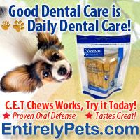 CET Pet Dental chews