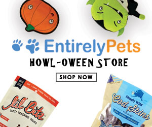 EntirelyPets Howl-oween Store