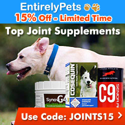 15% Off Joint and Arthritis Supplements at EntirelyPets with code JOINTS15