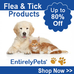 Up to 80% Off Flea and Tick Products at EntirelyPets