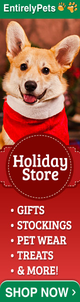Holiday Store Now Open at EntirelyPets.com