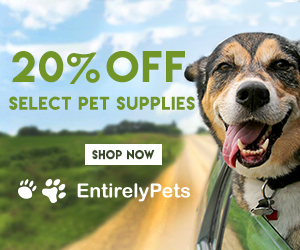 20% Off Select Pet Supplies