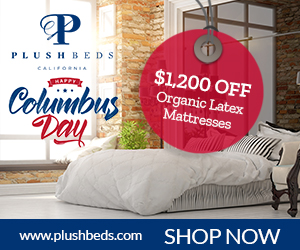 Columbus Day Sale Banner 300 x 250