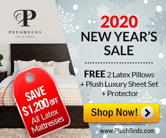 PlushBeds New Year Sale
