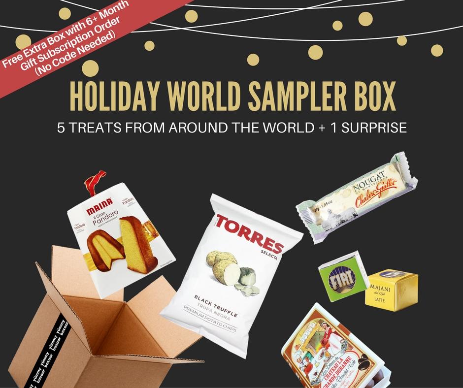 Yummy Bazaar World Sampler Box
