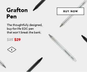 Grafton EDC Pen - by Everyman $29
