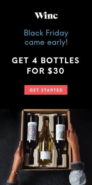 Winc - Get 4 Bottles for $30