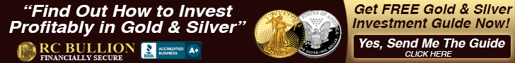 New Free Gold IRA Account, RC Bullion precious metals investing